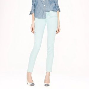 Crew Toothpick Ankle Skinny Jeans 25